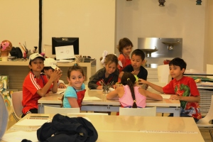 DHE students get to explore various kinds of art in a multi-week workshop at the MIA.