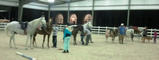 Afterward, ponies!! :-)